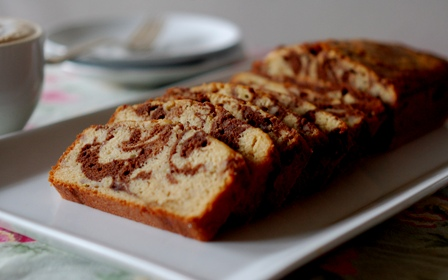 The Black and White Banana Loaf