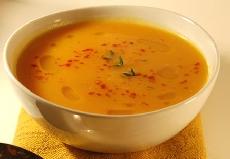 Eat Local Challenge:  Butternut Squash Soup