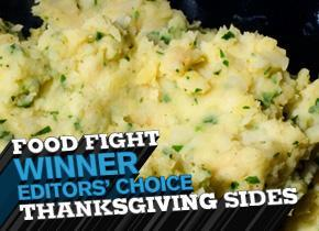 Thanksgiving dishes, Celery Root, Potatoes, Mashed Potatoes, Chow, Food Fight, Thanksgiving Sides