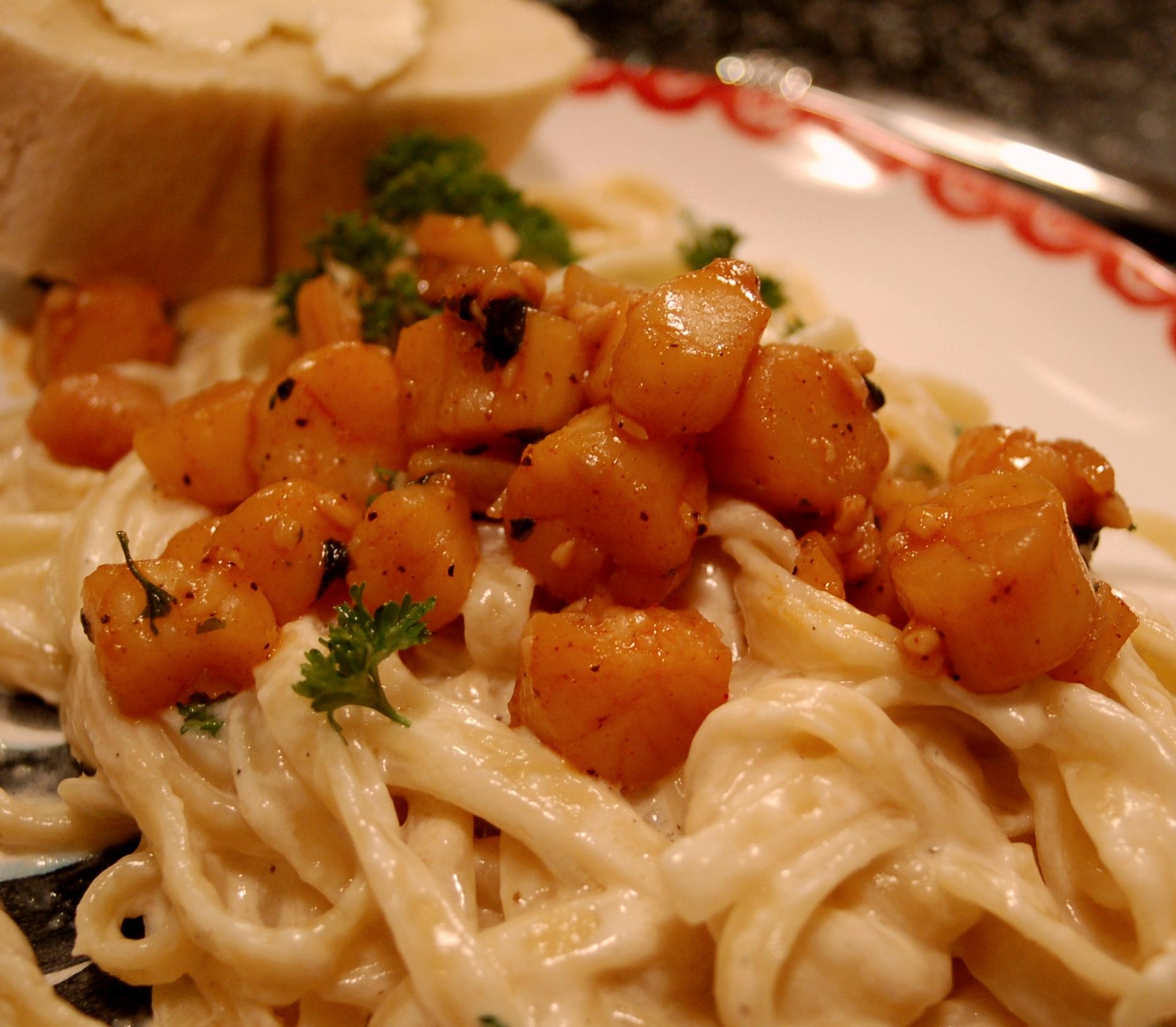 how to cook sea scallops