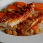 Recession Dinner Series #3:  Tilapia with Chickpeas
