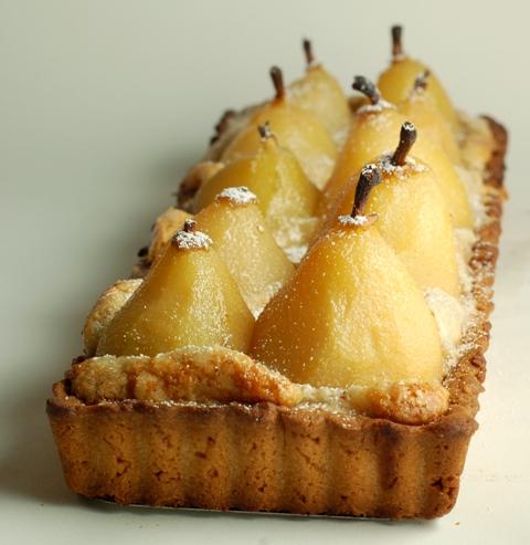 French Pear Tart