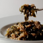 Kale with Farro