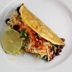 Recession Dinner Series # 12:  Black Bean Tacos