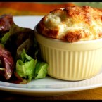 Blue Cheese Souffle