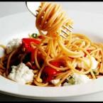 Roasted Capsicum Ricotta Pasta
