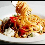 Roasted Capsicum & Ricotta Pasta