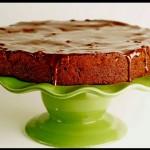 Chocolate Armagnac Cake