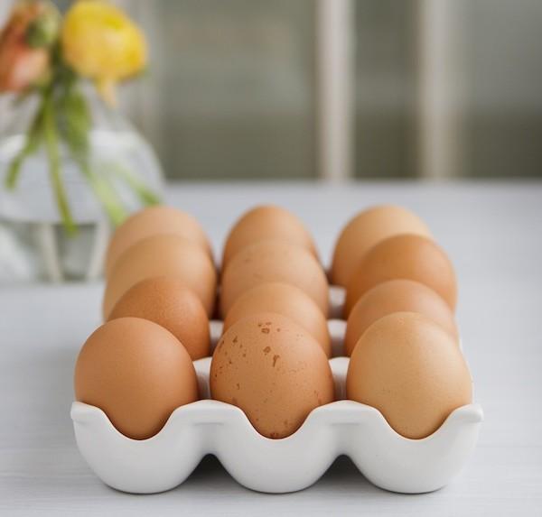 Eggs for Torta