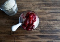 Roasted Strawberry Sauce  |  Chez Us