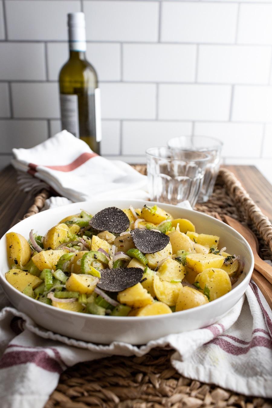 Black Truffle Potato Salad