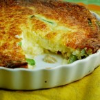 Crustless Asparagus Quiche