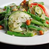 Lime Mint Noodle Salad