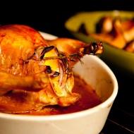 Lemon Rosemary Roasted Chicken