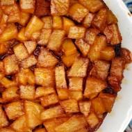 Pineapple Upside Down Rum Cake