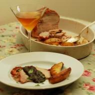 Pork Tenderloin in a Port-Prune Sauce