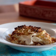Baharat Scented Rice with Roasted Cauliflower