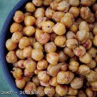Roasted Curry Garbanzos