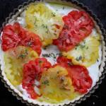 Savory Tomato Goat Cheese Tart