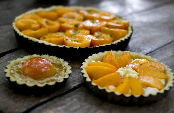 Apricot and Thyme Tart