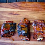 Sticky Ribs with Guava Marinade
