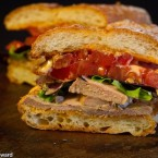 Spicy Pork Tenderloin Sandwich