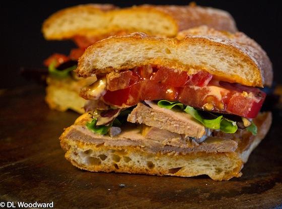 Spicy Pork Tenderloin Sandwich