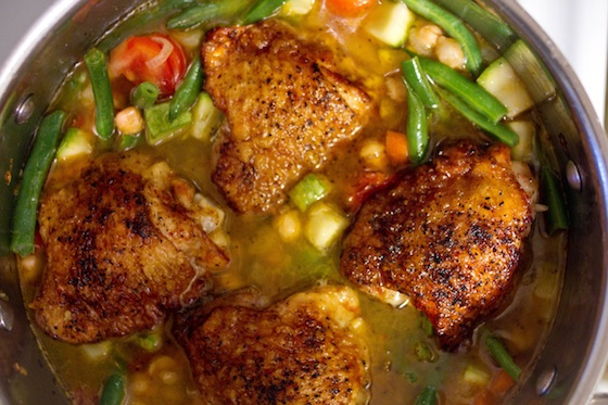 Moroccan Chicken Couscous