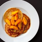 Wordless Wednesday | Peach Pancakes