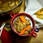 Porcini Barley Soup