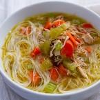 Chicken Noodle Soup {Gluten Free}