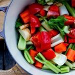 Homemade Roasted Vegetable Stock
