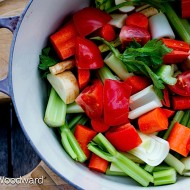 Homemade Roasted Vegetable Stock