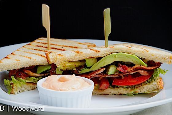 Spicy B.L.A.T Sandwich