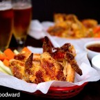 Crunchy Chicken Wings with Sweet & Savory Dipping Sauces