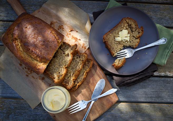 Super Moist Banana Bread - Chez Us