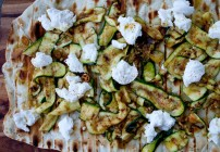 Piadine with grilled zucchini 0511