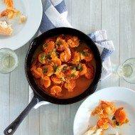 Portuguese Spicy Shrimp | Camarao Mozambique