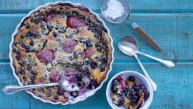 Blueberry Strawberry Clafouti 1 0711