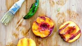 Grilled Peaches 2  0711