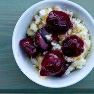 Ricotta with Cherries 0711