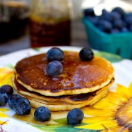 Homemade Cornmeal Griddle Pancake Mix