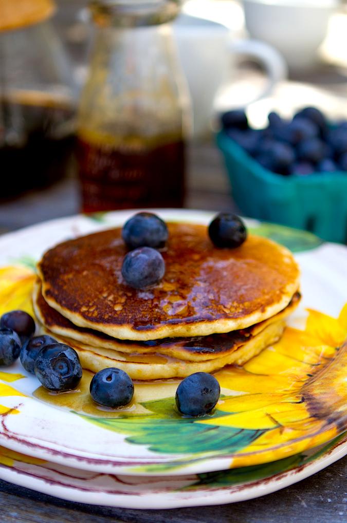 Homemade Cornmeal Griddle Pancake Mix - Chez Us