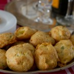 Making Choux and Sage and White Cheddar Gougeres