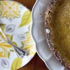 Meyer Lemon Rosemary Tart