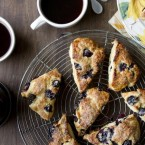 Blueberry Meyer Lemon Scones