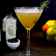 Rosemary Preserved Lemon Spritzer   (non-alcoholic)