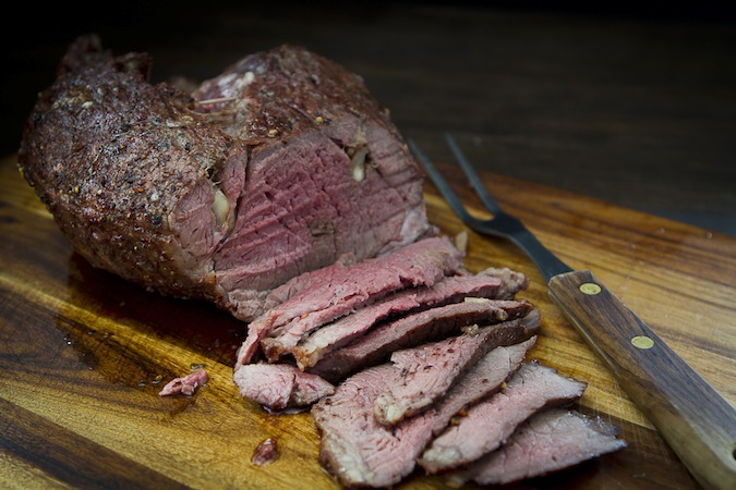 Roasted Leg of Lamb from Lava Lake Ranch