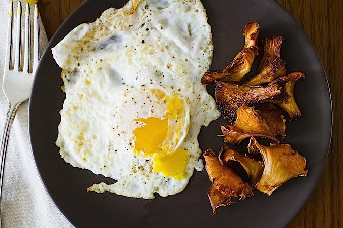 Chanterelle Bacon