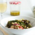 Farro and Roasted Broccolini Salad
